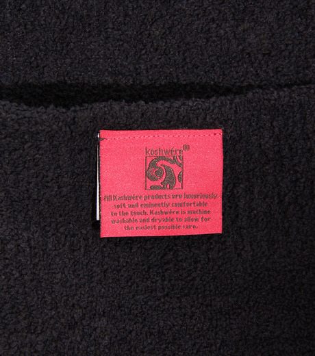 RESTIR SURF SIDE×Kashwére(リステアサーフサイド×カシウエア)のBLANKET with Bag-BLACK(インテリア/OTHER-GOODS/interior/OTHER-GOODS)-SURFSIDE-KA-13 詳細画像10