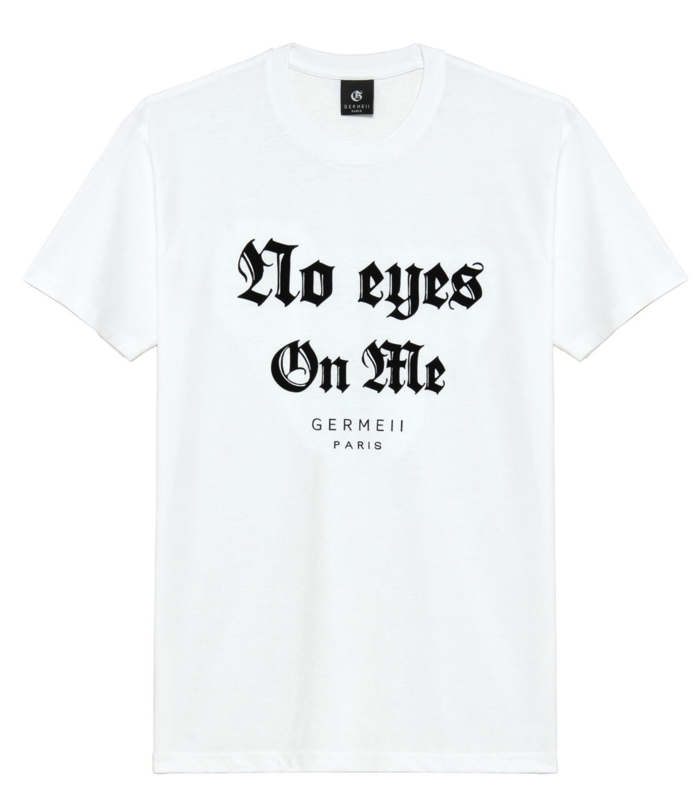 Germeii(ジェルメイ)のNo Eyes On Me Tee-WHITE(トップス/tops)-SW032SS14-4 拡大詳細画像1