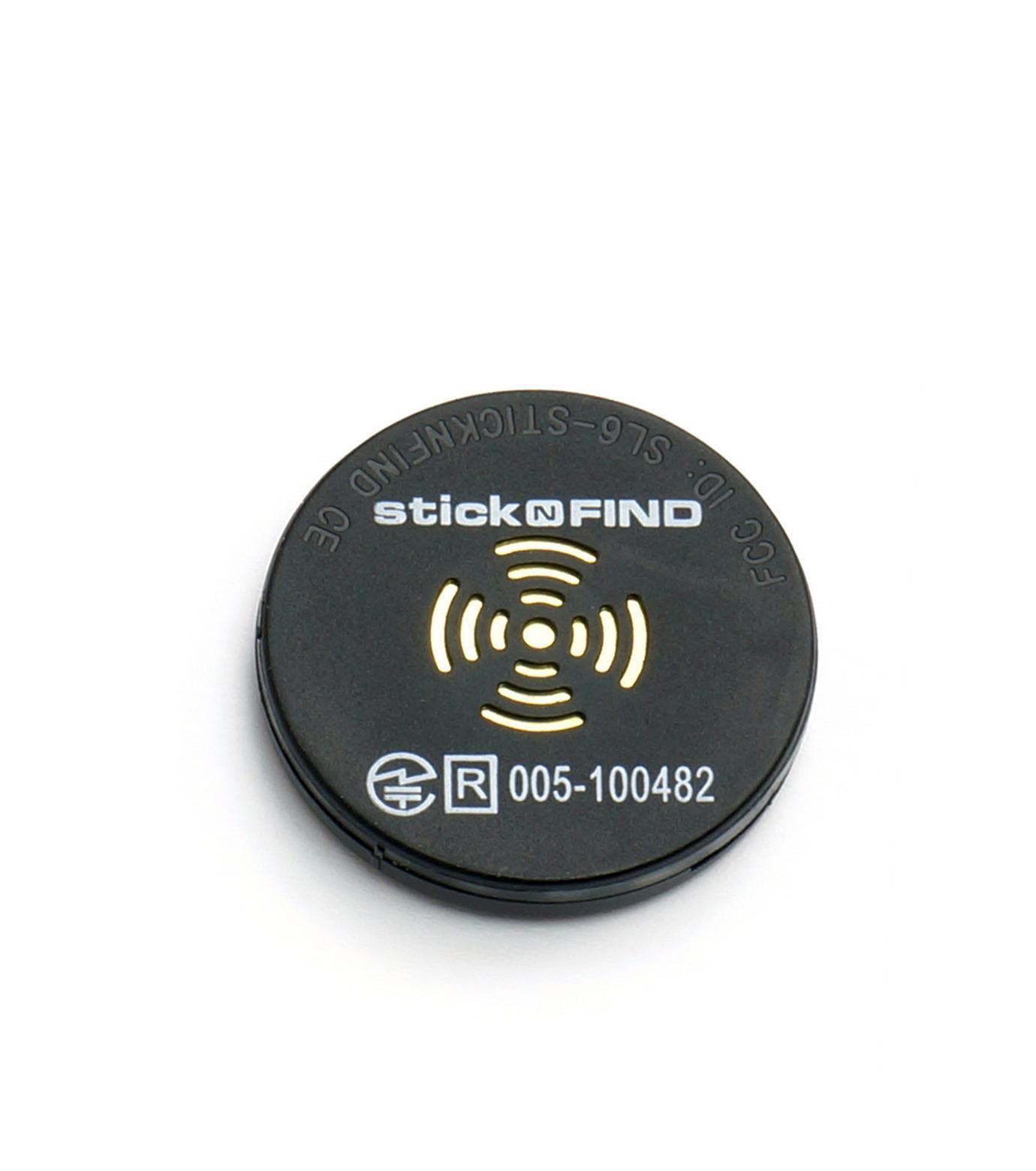StickNFind(ステッカー・ファインド)のBluetooth Sticker-BLACK(ガジェット/gadgets)-Stick-N-Find-13 拡大詳細画像1