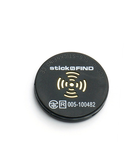 StickNFind(ステッカー・ファインド)のBluetooth Sticker-BLACK(ガジェット/gadgets)-Stick-N-Find-13 詳細画像1