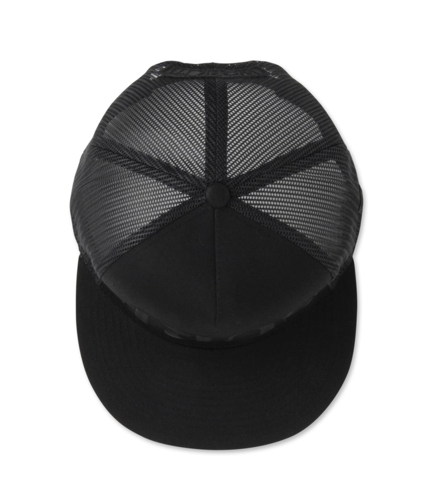 HEY YOU !(ヘイユウ)のSURF Mesh CAP-BLACK(キャップ/cap)-Surf-Cap2 拡大詳細画像4