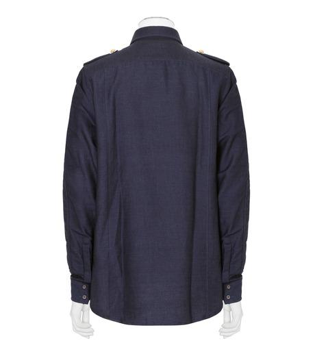 Balmain(バルマン)のDenim Shirt-NAVY(シャツ/shirt)-T113-D556-93 詳細画像2