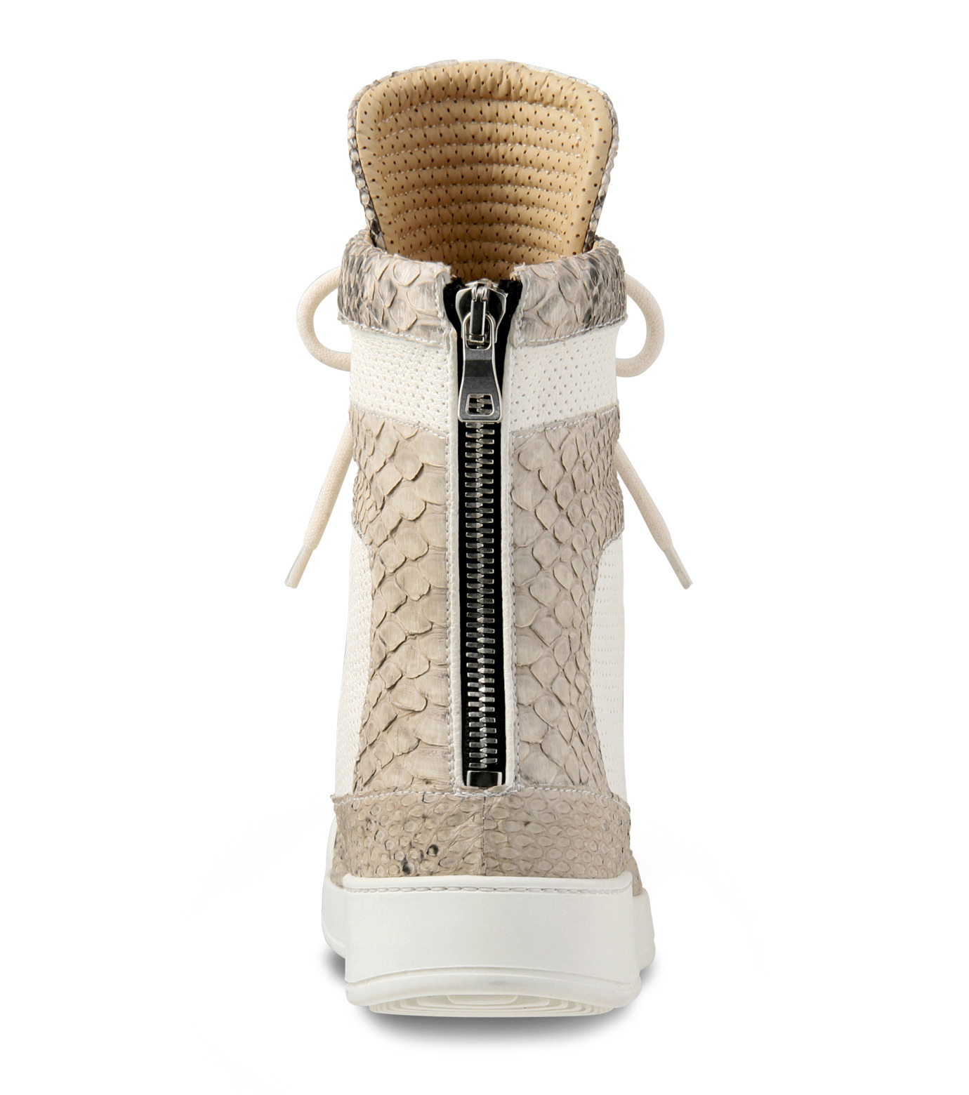 Balmain(バルマン)のHi cut sneaker-WHITE-T306-C189-4 拡大詳細画像3
