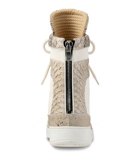 Balmain(バルマン)のHi cut sneaker-WHITE-T306-C189-4 詳細画像3
