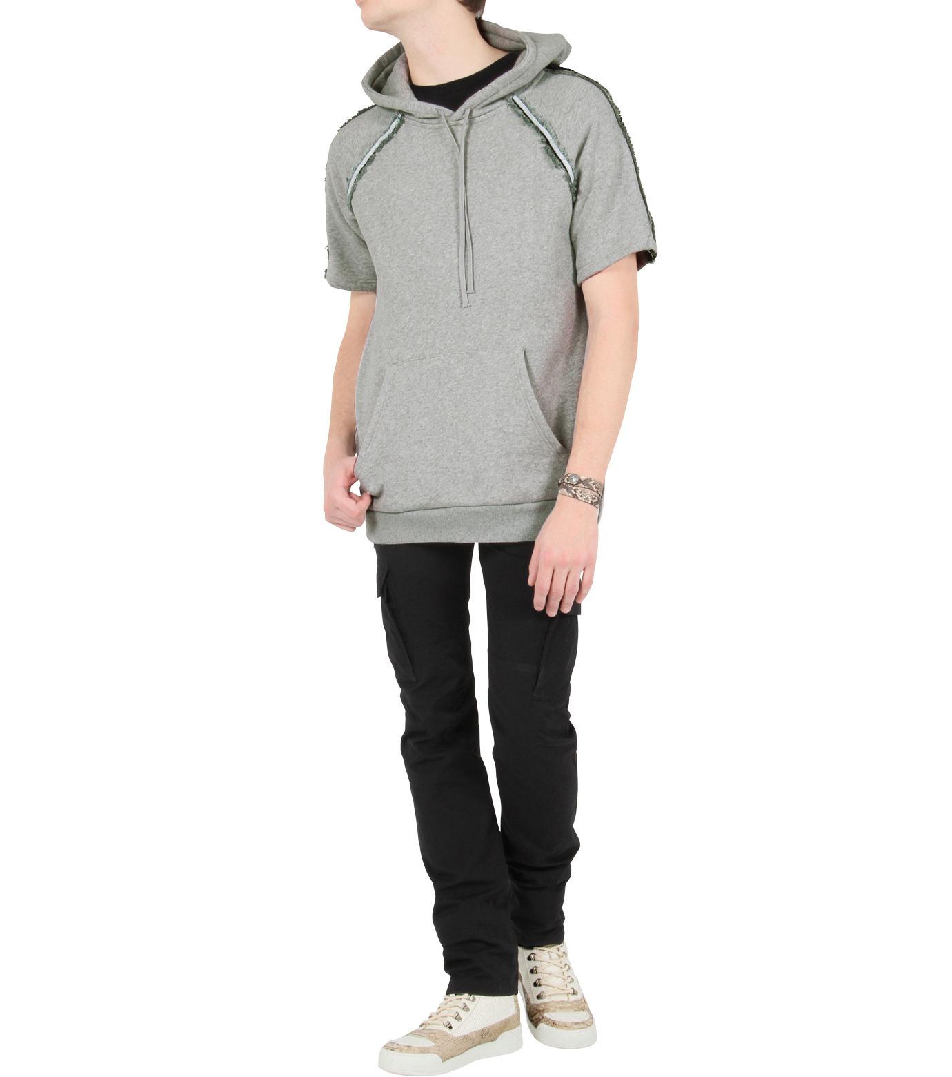 Balmain(バルマン)のHi cut sneaker-WHITE-T306-C189-4 拡大詳細画像5