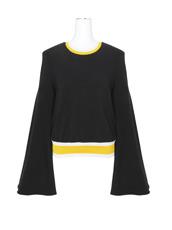Ellery() Flare Slv Terry Sweatshirt