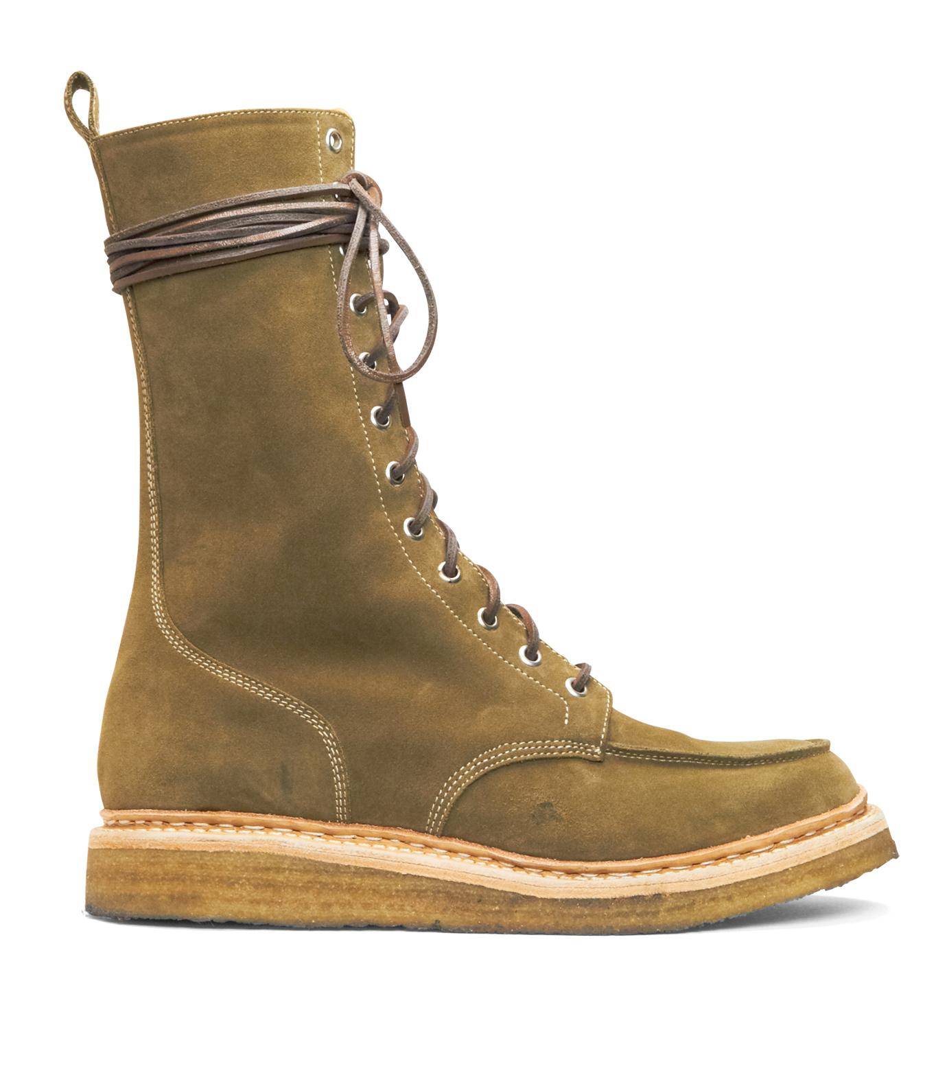 Balmain(バルマン)のRace Up Shoes-BROWN-T954-BA38 拡大詳細画像1