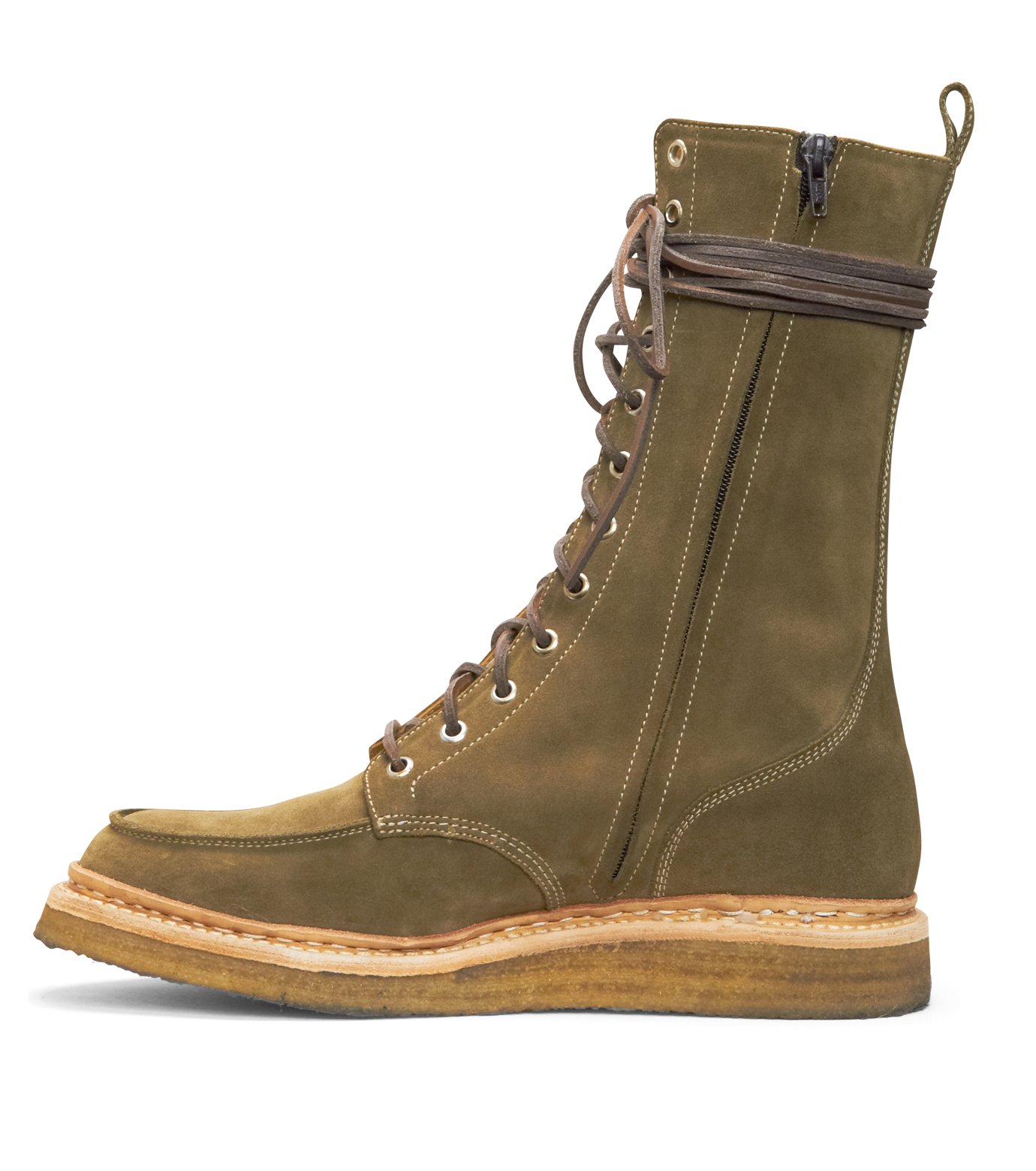 Balmain(バルマン)のRace Up Shoes-BROWN-T954-BA38 拡大詳細画像2