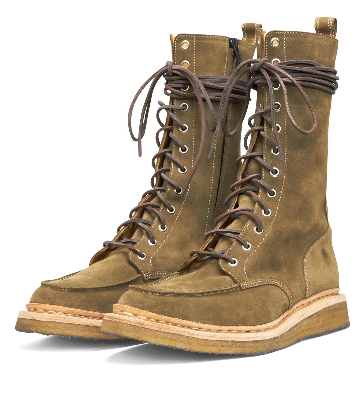 Balmain(バルマン)のRace Up Shoes-BROWN-T954-BA38 拡大詳細画像4