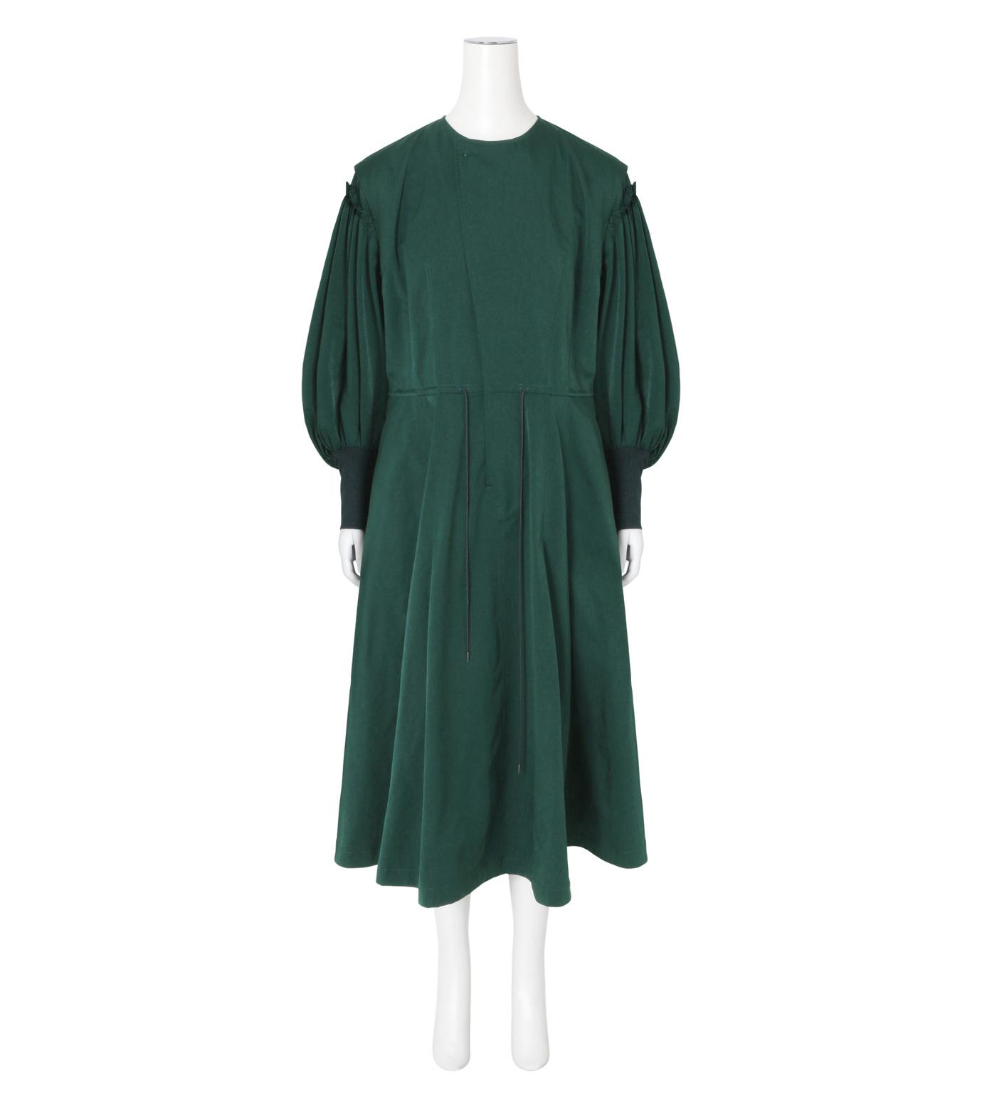 Toga(トーガ)のTaffeta Satin  Dress-GREEN(ワンピース/one piece)-TA62-FH089-22 拡大詳細画像1