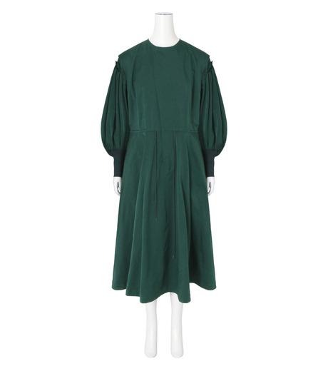 Toga(トーガ)のTaffeta Satin  Dress-GREEN(ワンピース/one piece)-TA62-FH089-22 詳細画像1
