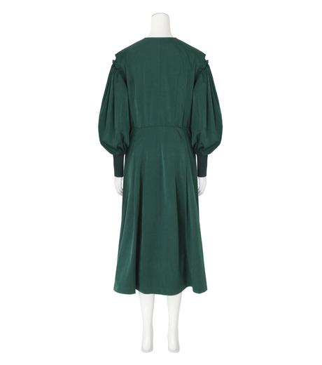 Toga(トーガ)のTaffeta Satin  Dress-GREEN(ワンピース/one piece)-TA62-FH089-22 詳細画像2