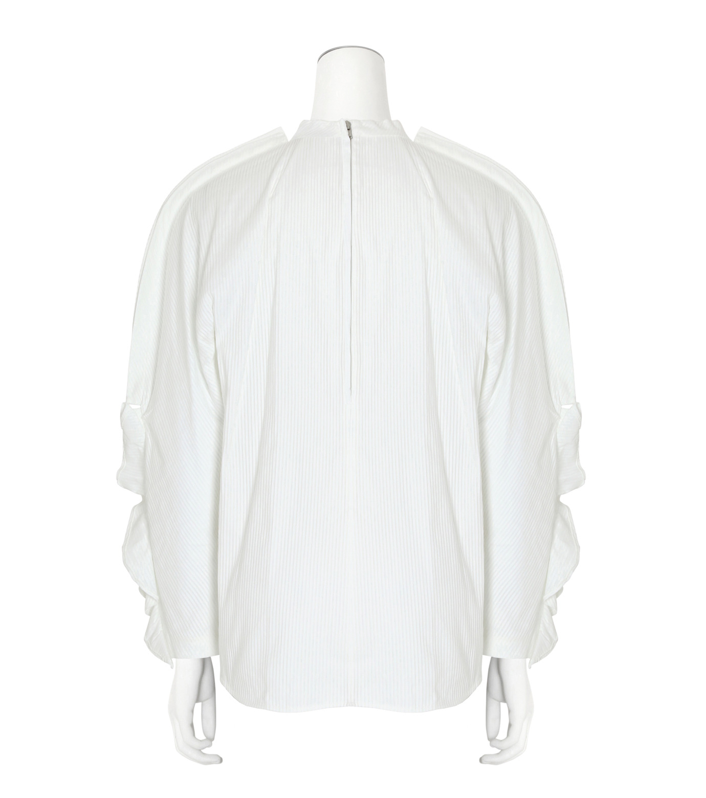 Toga(トーガ)のSatin Shirt-WHITE(BLOUSE/BLOUSE)-TA62-FJ043-4 拡大詳細画像2