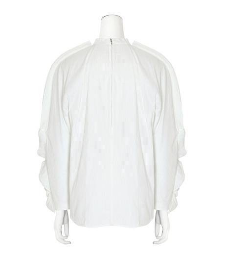 Toga(トーガ)のSatin Shirt-WHITE(BLOUSE/BLOUSE)-TA62-FJ043-4 詳細画像2