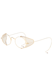 Thom Browne Eye Wear Shiny 12k gold