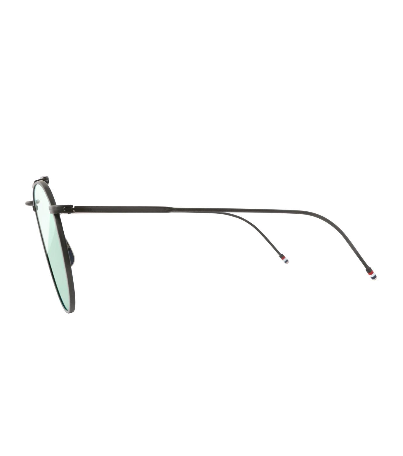 Thom Browne Eye Wear(トム・ブラウン・アイウェア)のTeardrop Silver-BLACK(アイウェア/eyewear)-TB-015-LTD-13 拡大詳細画像2