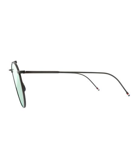 Thom Browne Eye Wear(トム・ブラウン・アイウェア)のTeardrop Silver-BLACK(アイウェア/eyewear)-TB-015-LTD-13 詳細画像2