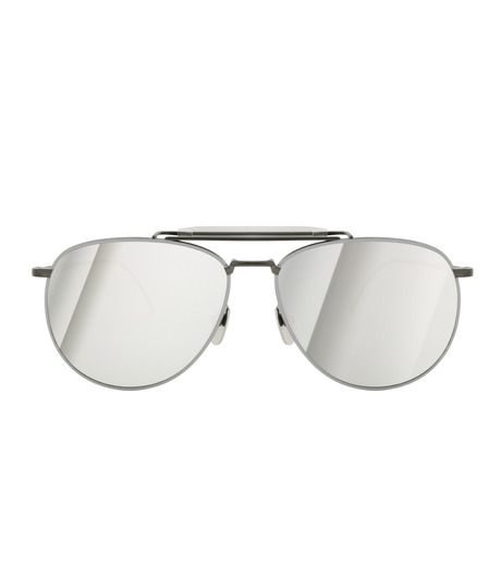 Thom Browne Eye Wear(トム・ブラウン・アイウェア)のTeardrop Silver-BLACK(アイウェア/eyewear)-TB-015-LTD-13 詳細画像3