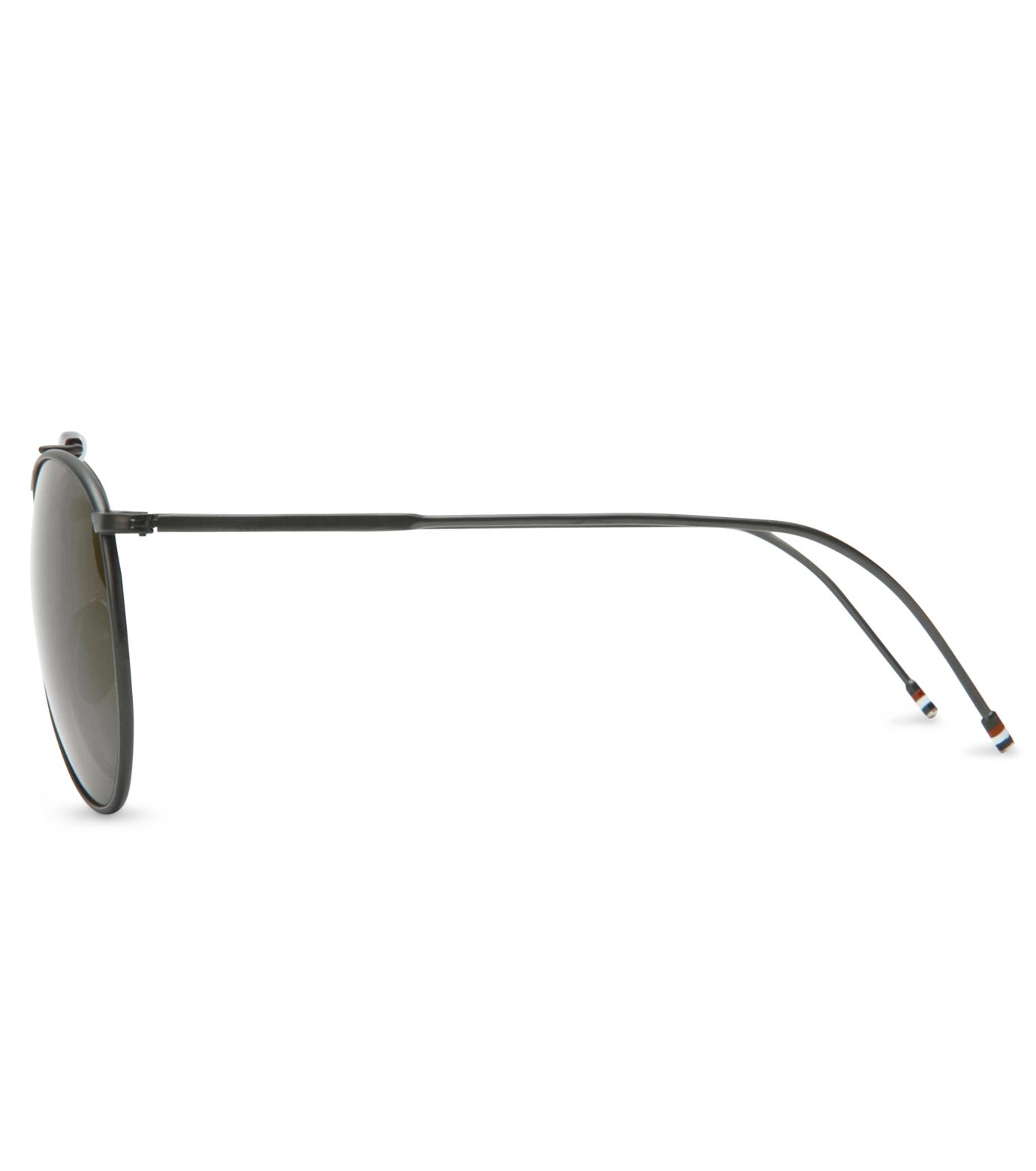 Thom Browne Eye Wear(トム・ブラウン・アイウェア)のBlack iron w-BLACK(アイウェア/eyewear)-TB-020C-T-59-13 拡大詳細画像2