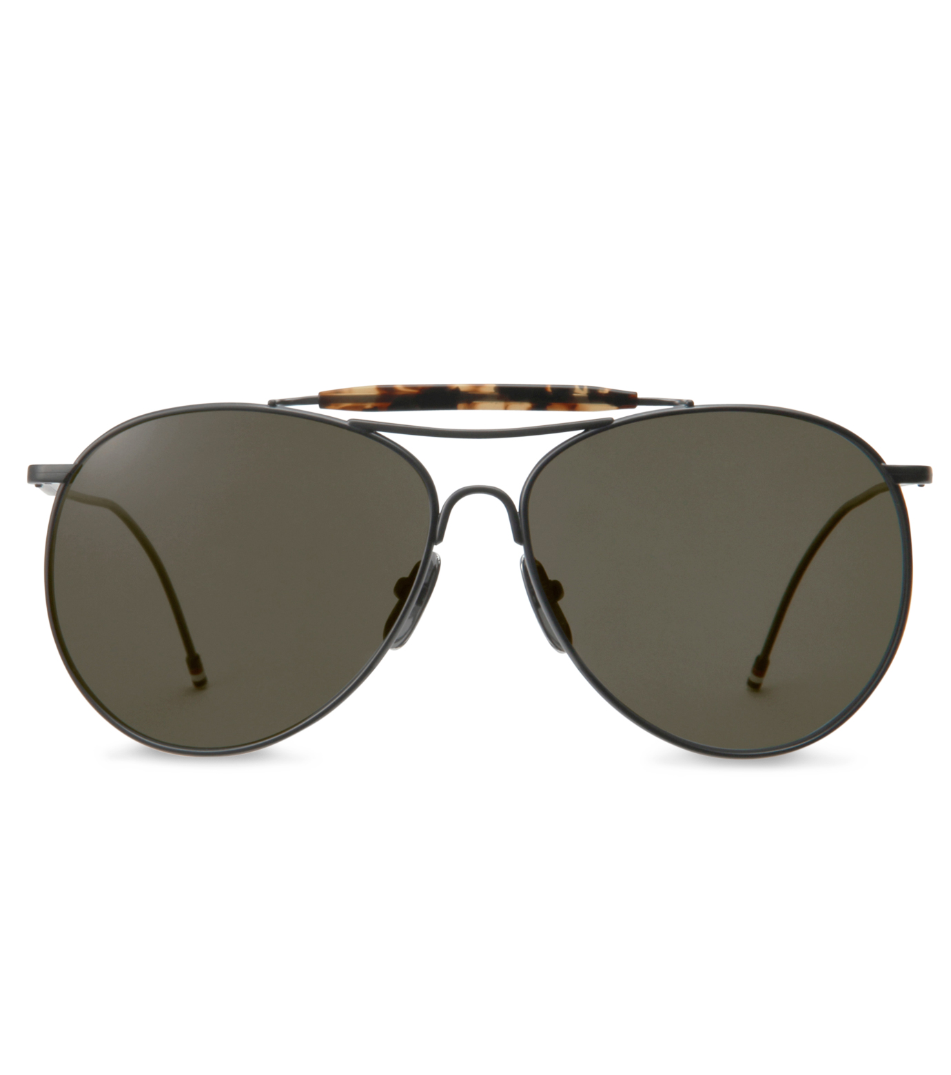 Thom Browne Eye Wear(トム・ブラウン・アイウェア)のBlack iron w-BLACK(アイウェア/eyewear)-TB-020C-T-59-13 拡大詳細画像3