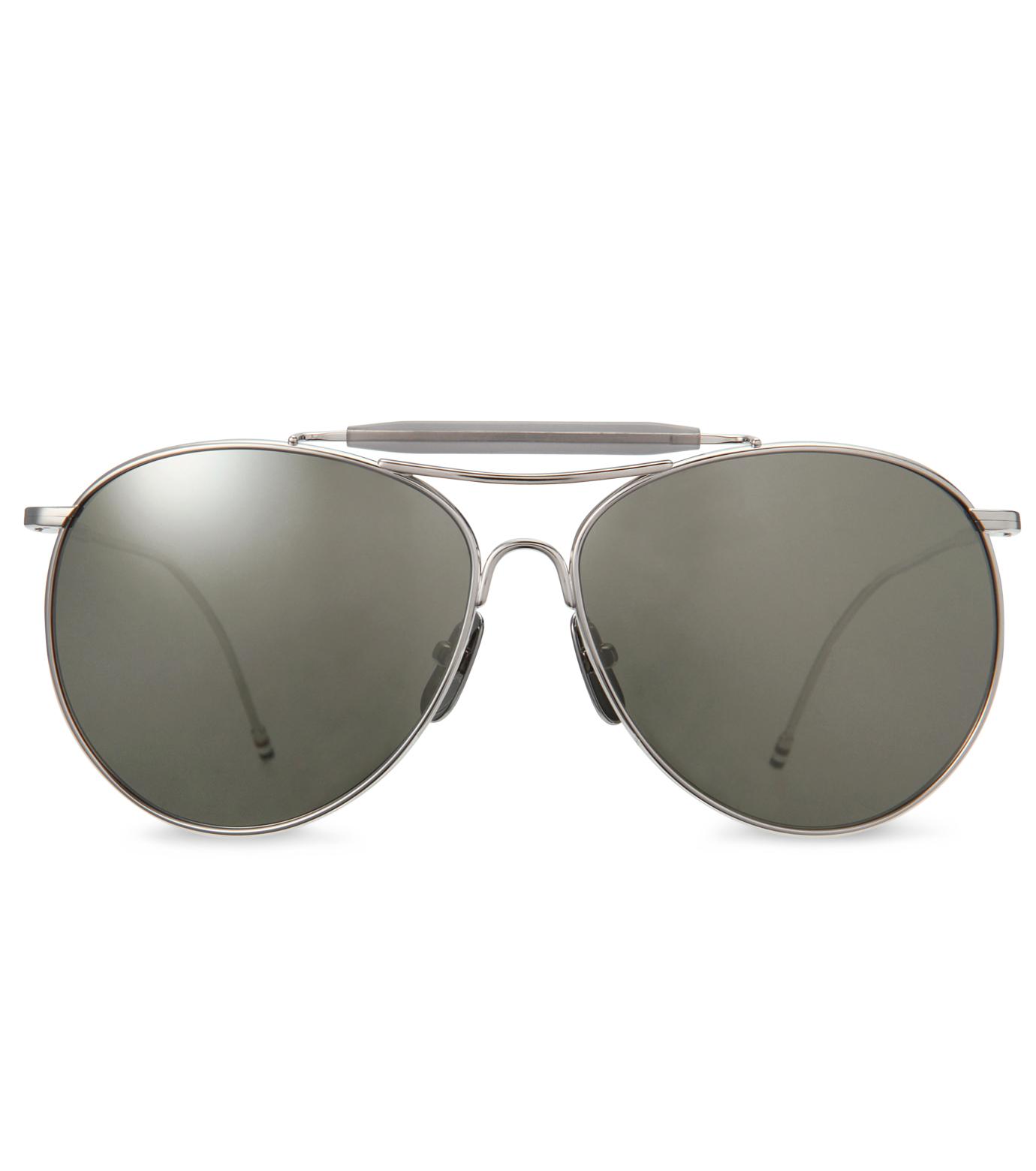 Thom Browne Eye Wear(トム・ブラウン・アイウェア)のShiny silver w-SILVER(アクセサリー/accessory)-TB-020D-T-59-1 拡大詳細画像3
