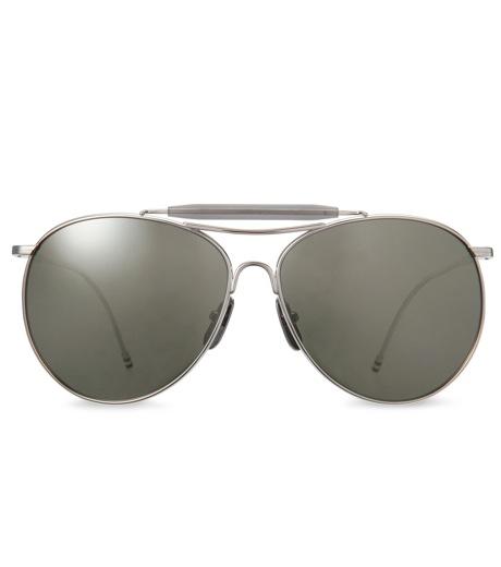Thom Browne Eye Wear(トム・ブラウン・アイウェア)のShiny silver w-SILVER(アクセサリー/accessory)-TB-020D-T-59-1 詳細画像3