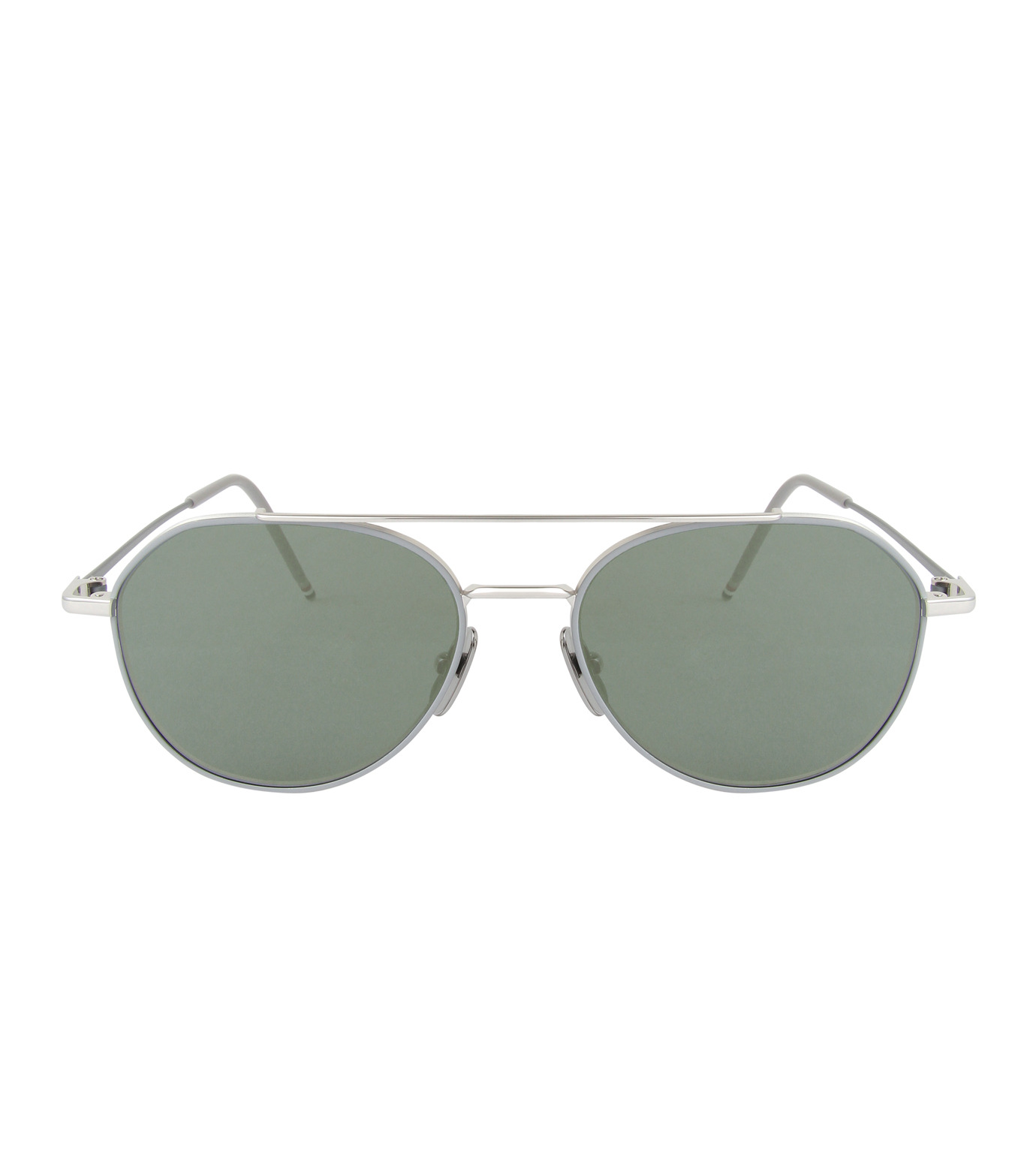 Thom Browne Eye Wear(トム・ブラウン・アイウェア)のTear Drop Slv Frame-SILVER(アイウェア/eyewear)-TB-105-B-1 拡大詳細画像3