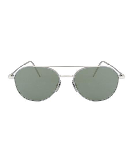 Thom Browne Eye Wear(トム・ブラウン・アイウェア)のTear Drop Slv Frame-SILVER(アイウェア/eyewear)-TB-105-B-1 詳細画像3