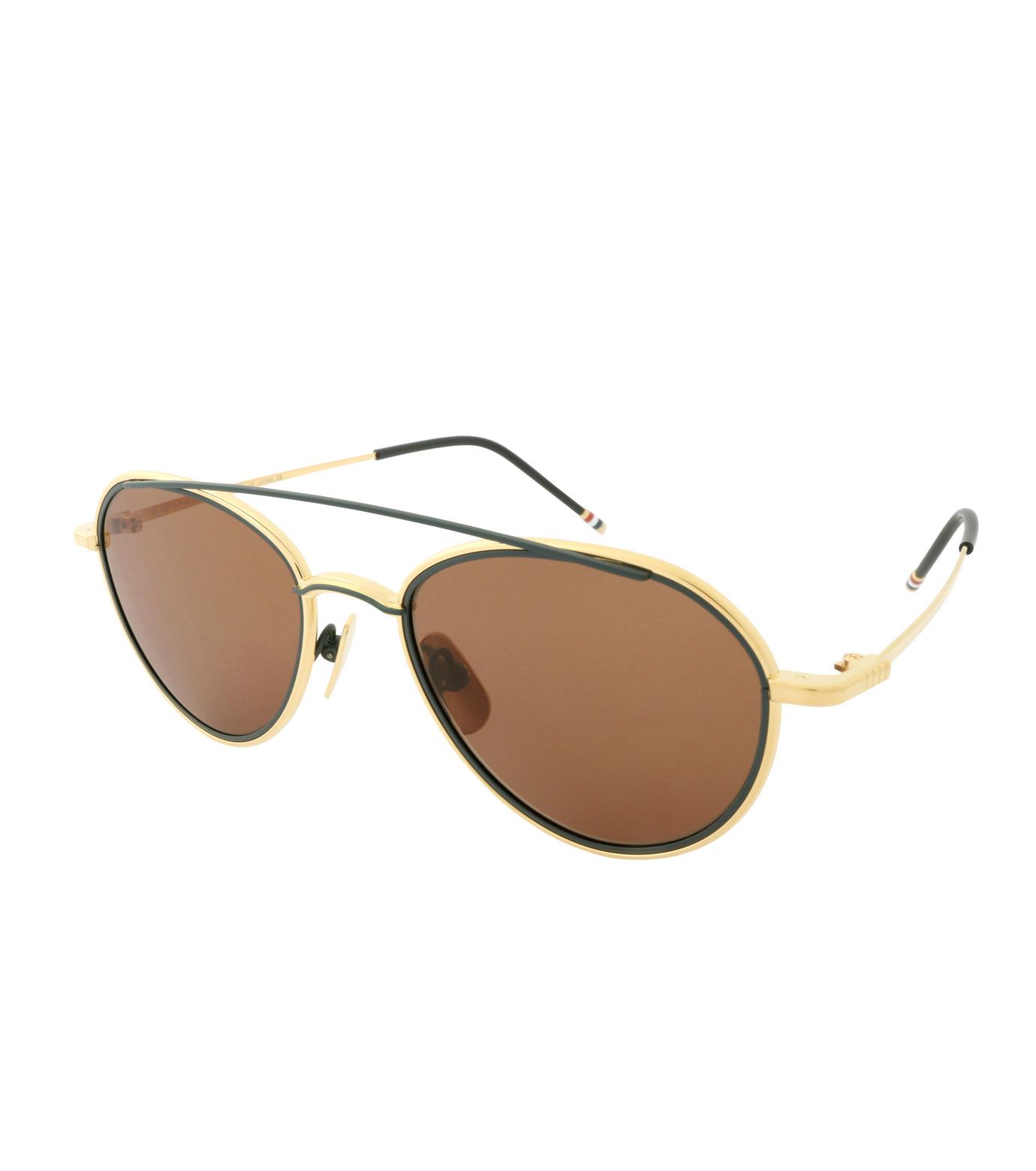 Thom Browne Eye Wear(トム・ブラウン・アイウェア)のGold Frame-SILVER(アイウェア/eyewear)-TB-109-C-T-1 拡大詳細画像1