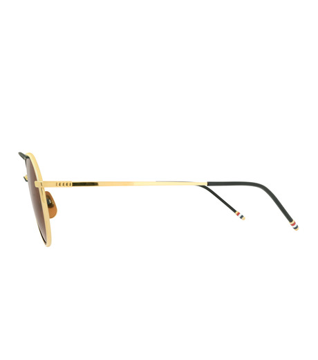 Thom Browne Eye Wear(トム・ブラウン・アイウェア)のGold Frame-SILVER(アイウェア/eyewear)-TB-109-C-T-1 詳細画像2