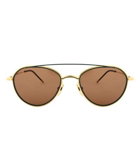 Thom Browne Eye Wear(トム・ブラウン・アイウェア)のGold Frame-SILVER(アイウェア/eyewear)-TB-109-C-T-1 詳細画像3