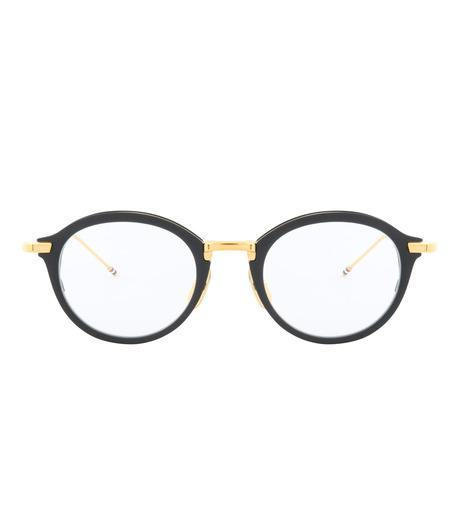 Thom Browne Eye Wear(トム・ブラウン・アイウェア)のRound Clear Lens-BLACK(アイウェア/eyewear)-TB-110-A-13 詳細画像3