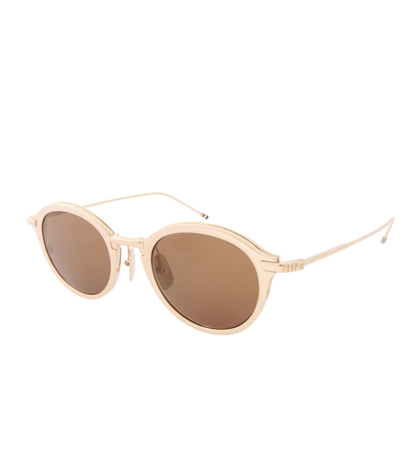Thom Browne Eye Wear(トム・ブラウン・アイウェア)のRound Lens-GOLD(アイウェア/eyewear)-TB-110-C-T-2 拡大詳細画像1