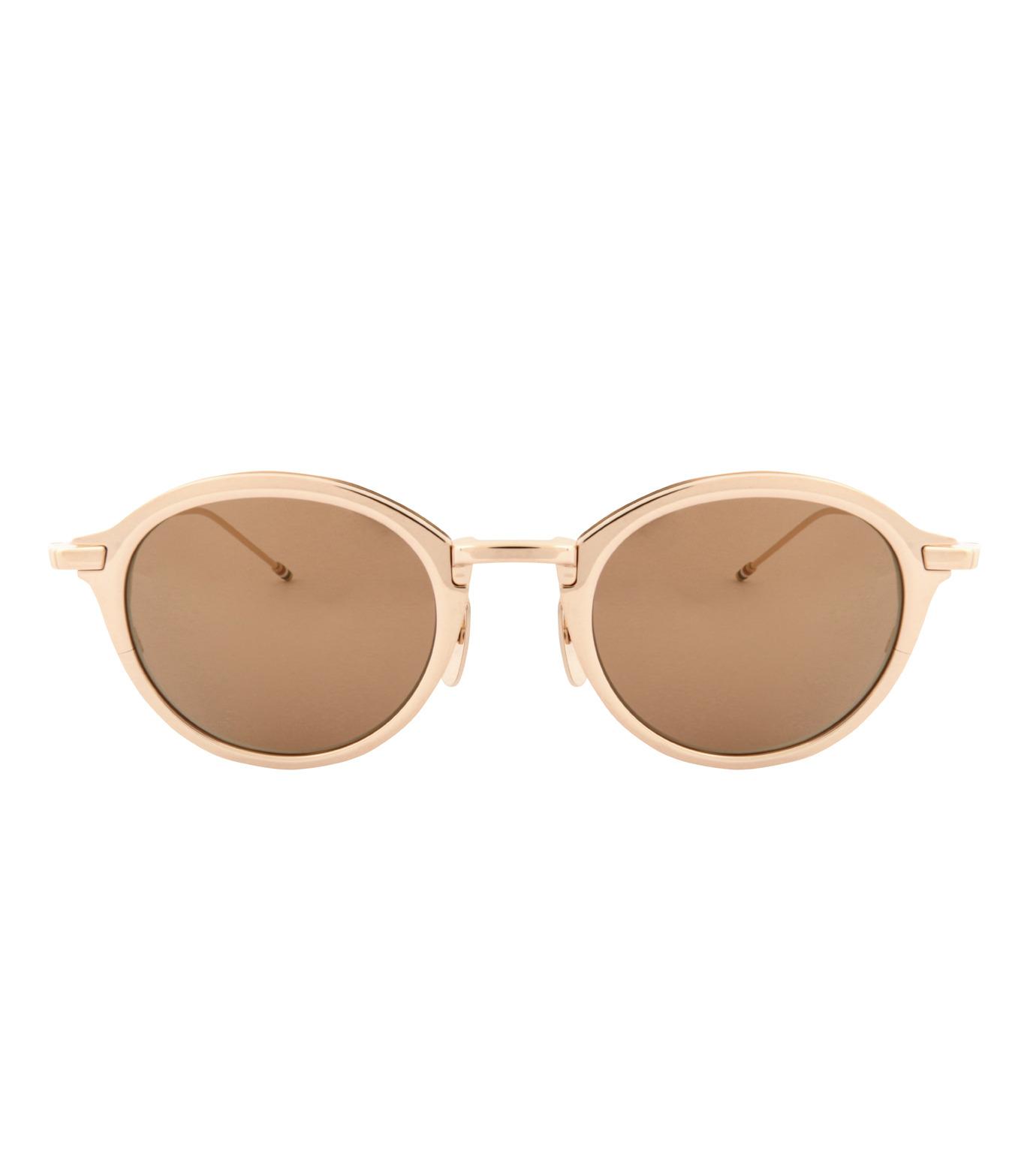 Thom Browne Eye Wear(トム・ブラウン・アイウェア)のRound Lens-GOLD(アイウェア/eyewear)-TB-110-C-T-2 拡大詳細画像3