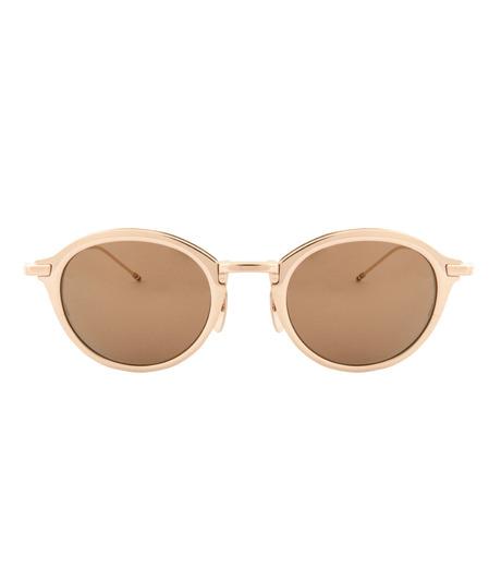 Thom Browne Eye Wear(トム・ブラウン・アイウェア)のRound Lens-GOLD(アイウェア/eyewear)-TB-110-C-T-2 詳細画像3