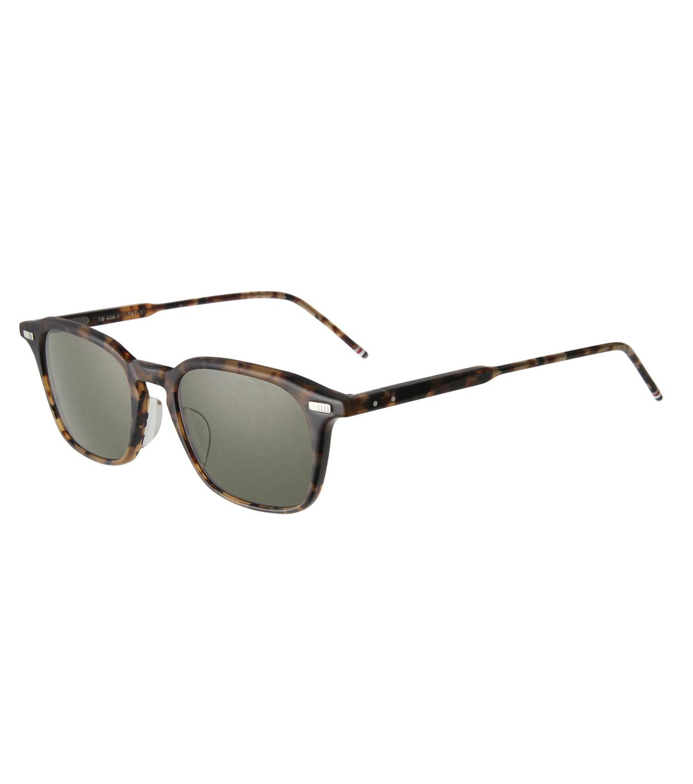 Thom Browne Eye Wear(トム・ブラウン・アイウェア)のWellington-BROWN(アイウェア/eyewear)-TB-406-B-T-42 拡大詳細画像1