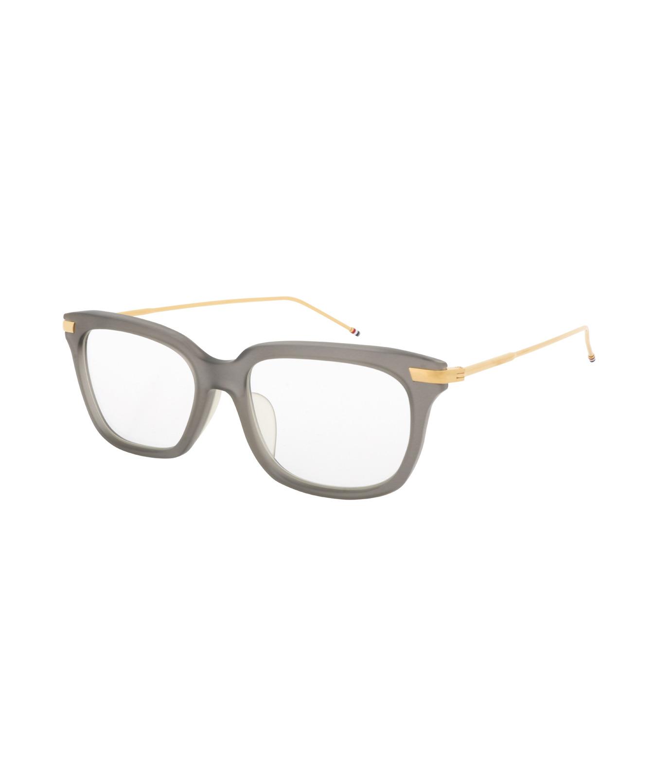 Thom Browne Eye Wear(トム・ブラウン・アイウェア)のWellington Clear Lens-GRAY(アイウェア/eyewear)-TB-701-G-11 拡大詳細画像1