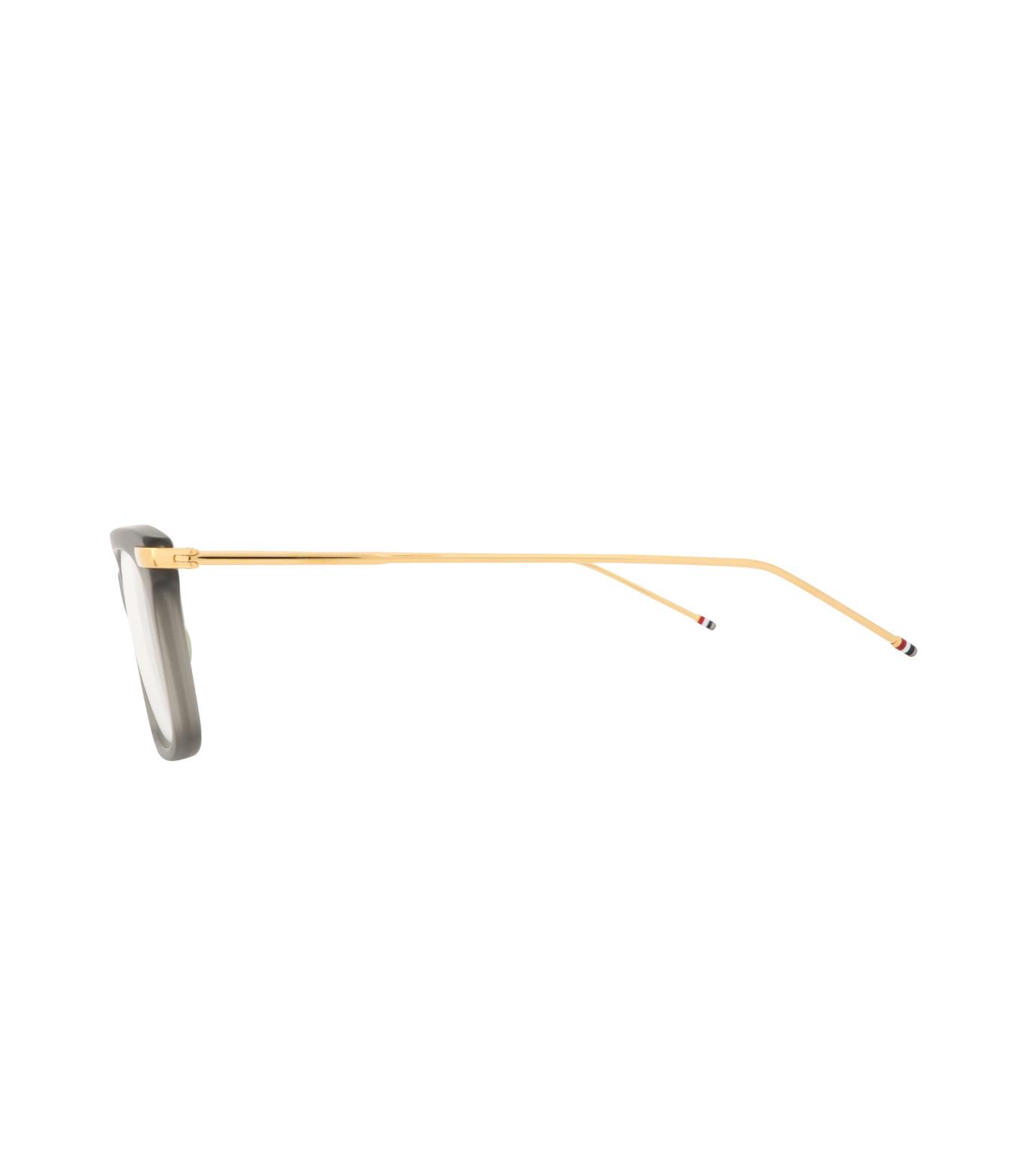 Thom Browne Eye Wear(トム・ブラウン・アイウェア)のWellington Clear Lens-GRAY(アイウェア/eyewear)-TB-701-G-11 拡大詳細画像2