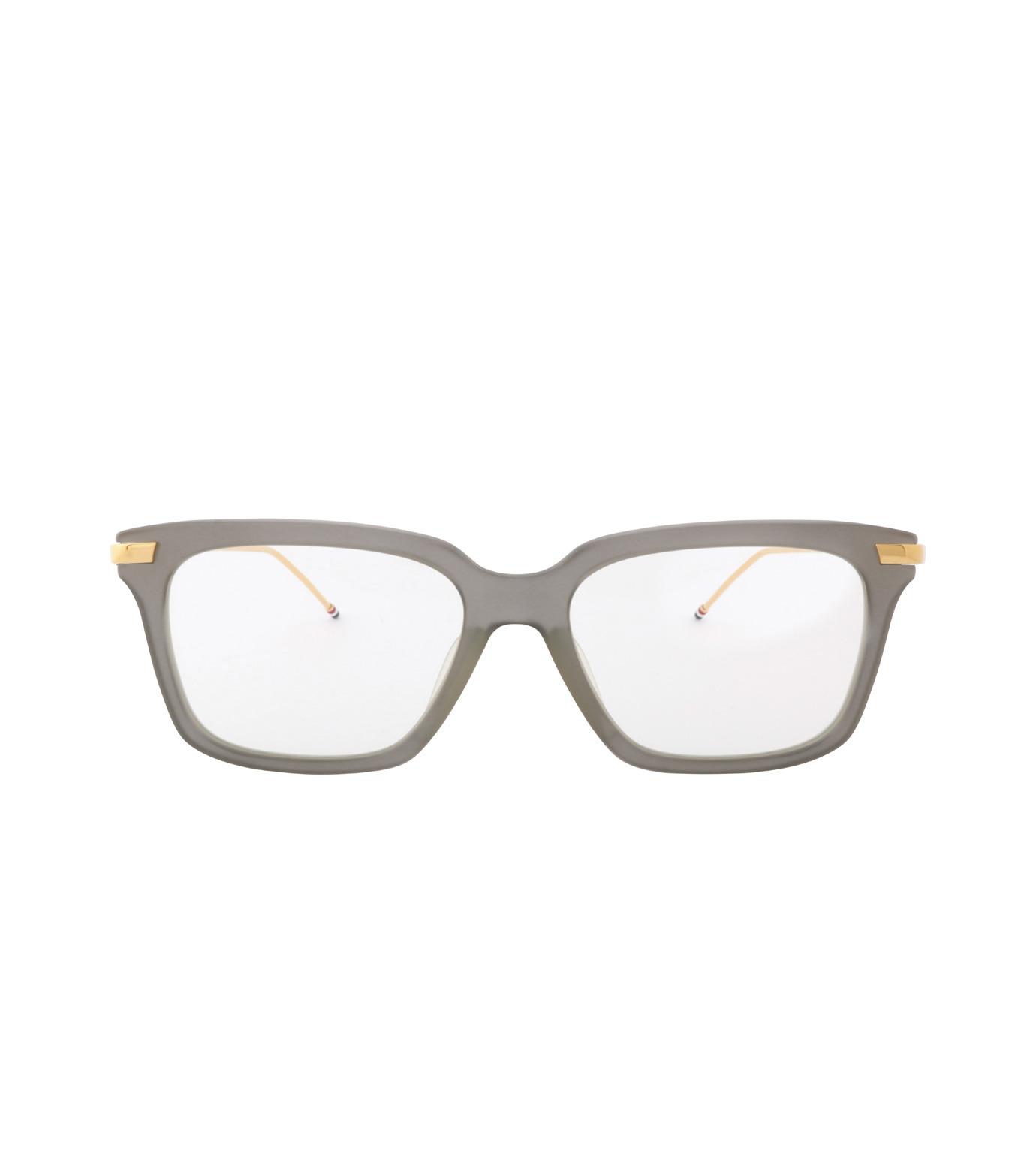 Thom Browne Eye Wear(トム・ブラウン・アイウェア)のWellington Clear Lens-GRAY(アイウェア/eyewear)-TB-701-G-11 拡大詳細画像3