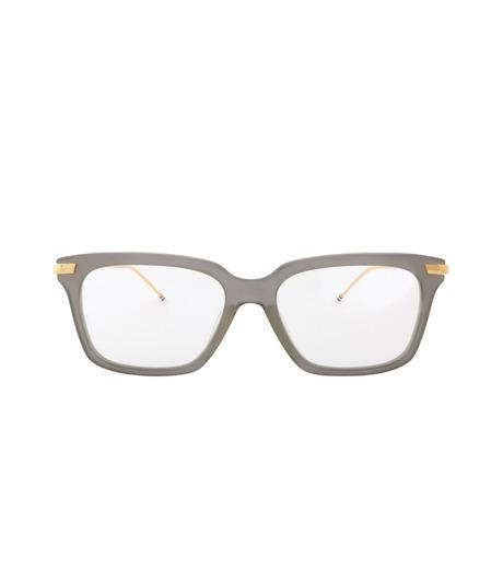 Thom Browne Eye Wear(トム・ブラウン・アイウェア)のWellington Clear Lens-GRAY(アイウェア/eyewear)-TB-701-G-11 詳細画像3