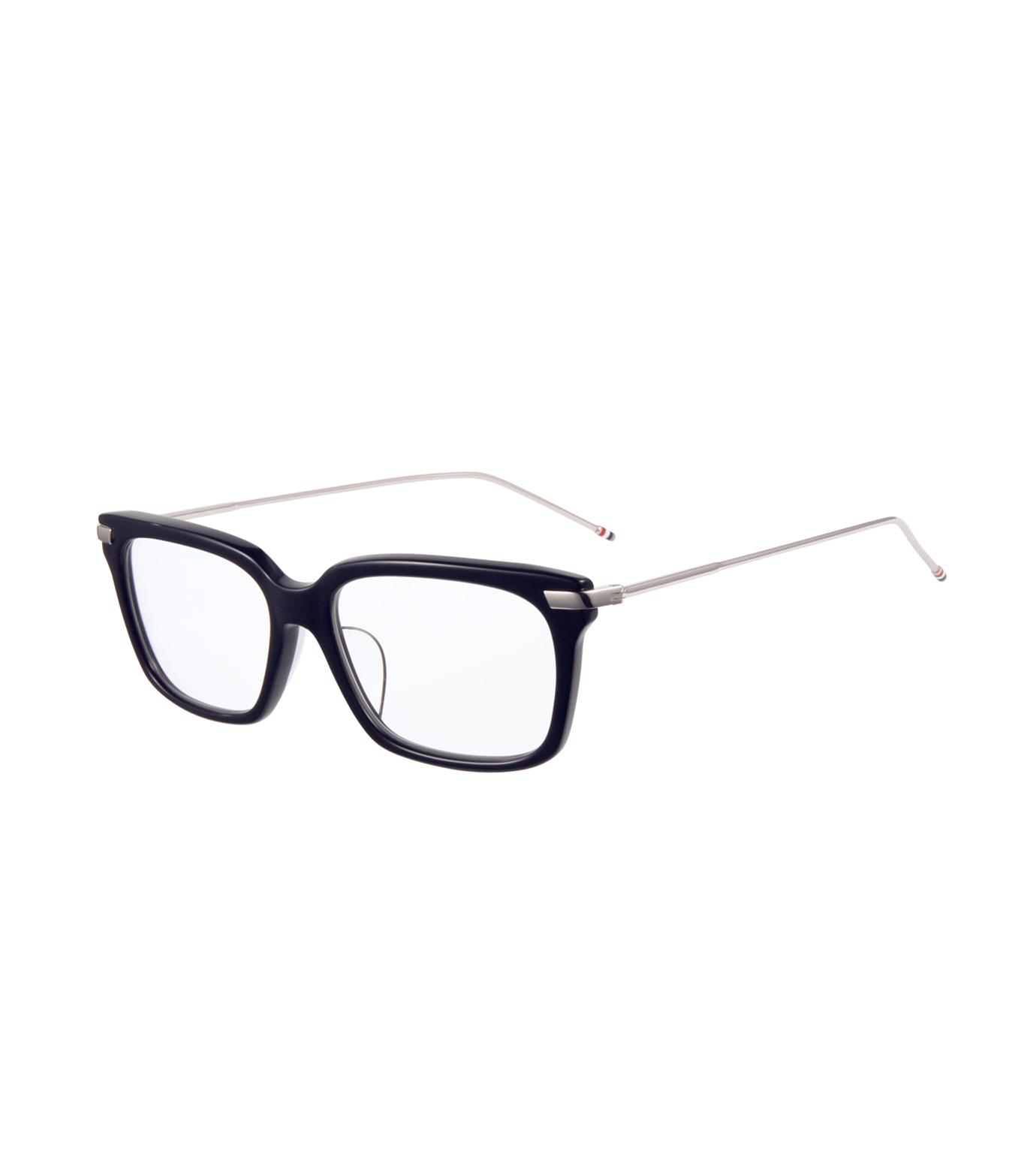 Thom Browne Eye Wear(トム・ブラウン・アイウェア)のWellington Clear Lens-NAVY(アイウェア/eyewear)-TB-701-H-93 拡大詳細画像1