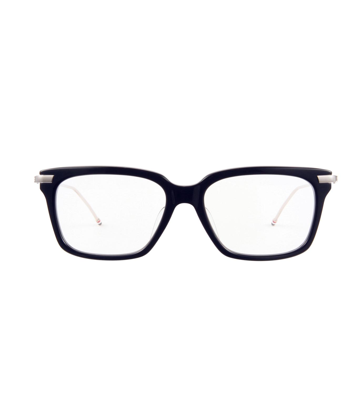 Thom Browne Eye Wear(トム・ブラウン・アイウェア)のWellington Clear Lens-NAVY(アイウェア/eyewear)-TB-701-H-93 拡大詳細画像3