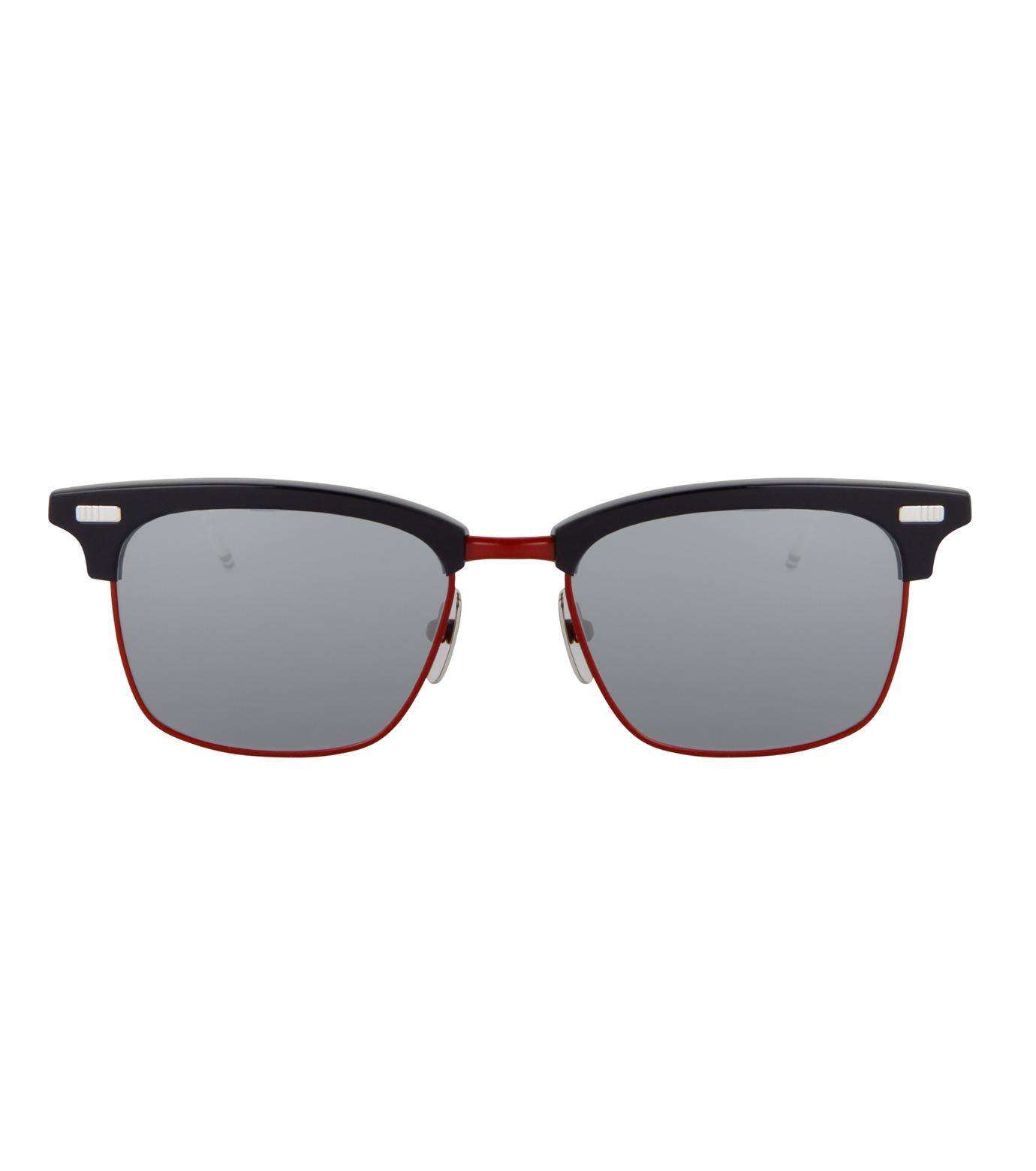 Thom Browne Eye Wear(トム・ブラウン・アイウェア)のtricolore wellington-NAVY(アイウェア/eyewear)-TB-711-D-93 拡大詳細画像3
