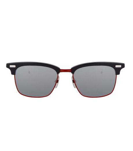 Thom Browne Eye Wear(トム・ブラウン・アイウェア)のtricolore wellington-NAVY(アイウェア/eyewear)-TB-711-D-93 詳細画像3