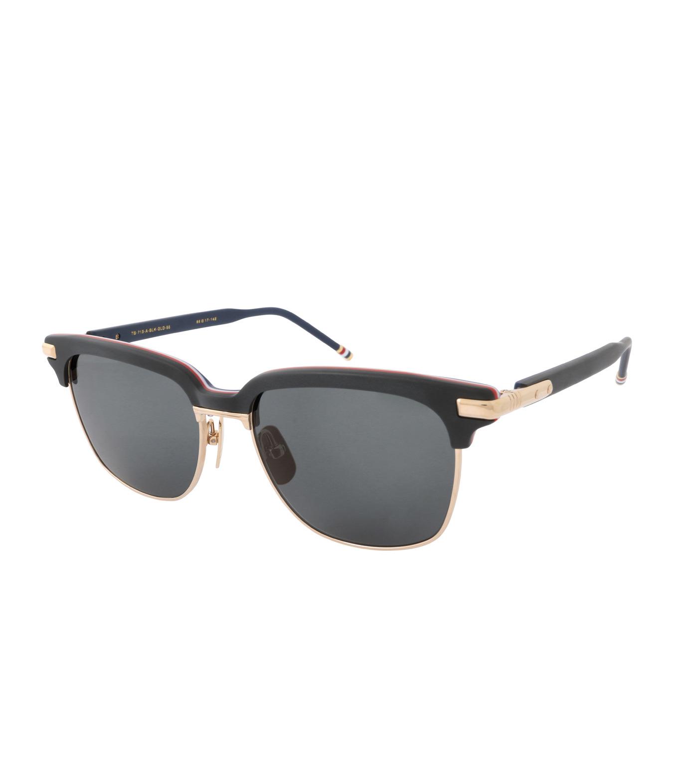 Thom Browne Eye Wear(トム・ブラウン・アイウェア)のBlack Frame-BLACK(アイウェア/eyewear)-TB-713-A-13 拡大詳細画像1