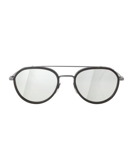 Thom Browne Eye Wear(トム・ブラウン・アイウェア)のMirror Lens Teardrop-BLACK(アイウェア/eyewear)-TB-801-F-13 詳細画像3