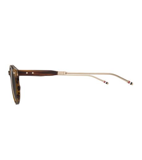 Thom Browne Eye Wear(トム・ブラウン・アイウェア)のFolding Roundframe-YELLOW(アイウェア/eyewear)-TB-806-B-32 詳細画像2
