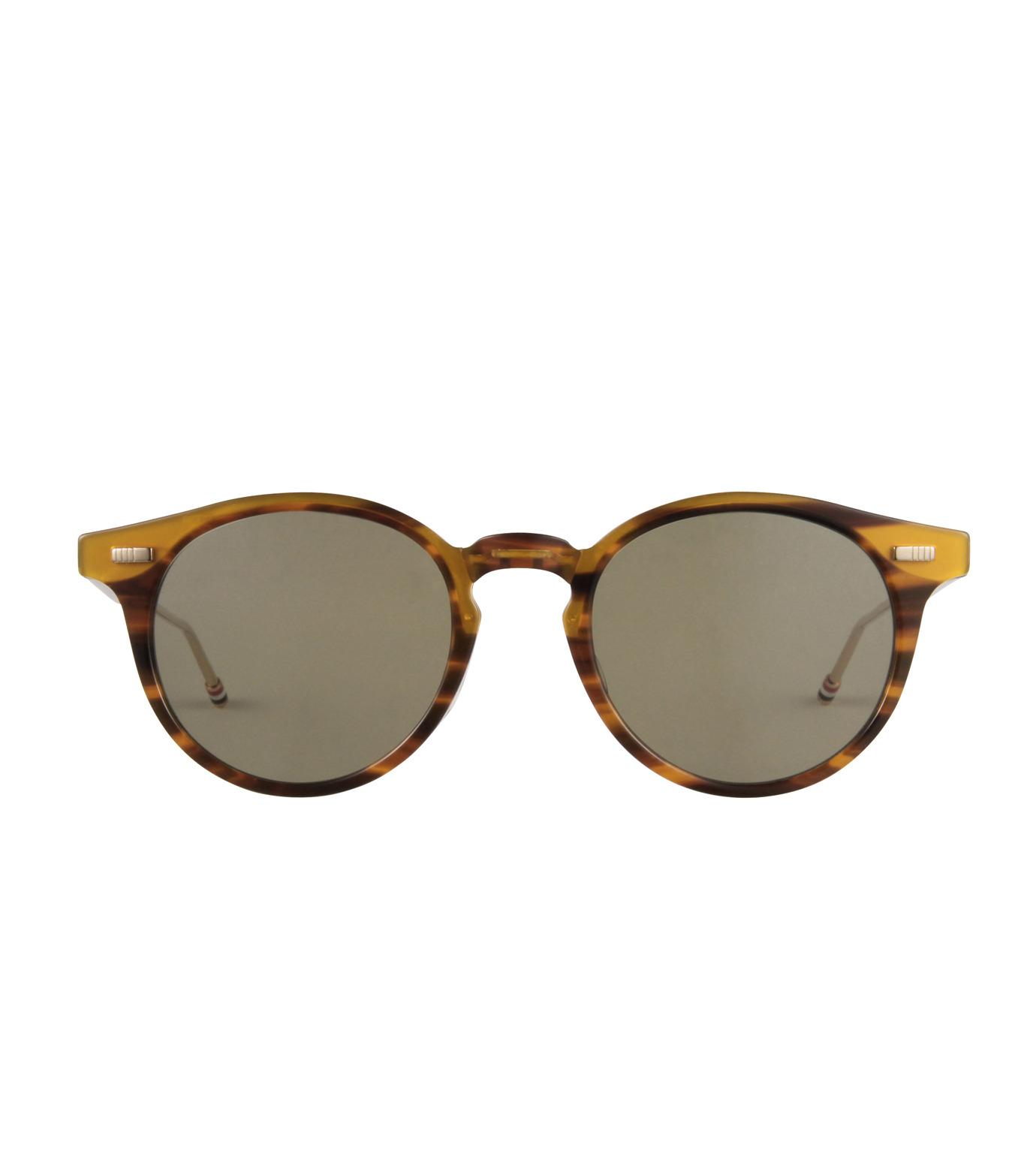 Thom Browne Eye Wear(トム・ブラウン・アイウェア)のFolding Roundframe-YELLOW(アイウェア/eyewear)-TB-806-B-32 拡大詳細画像3
