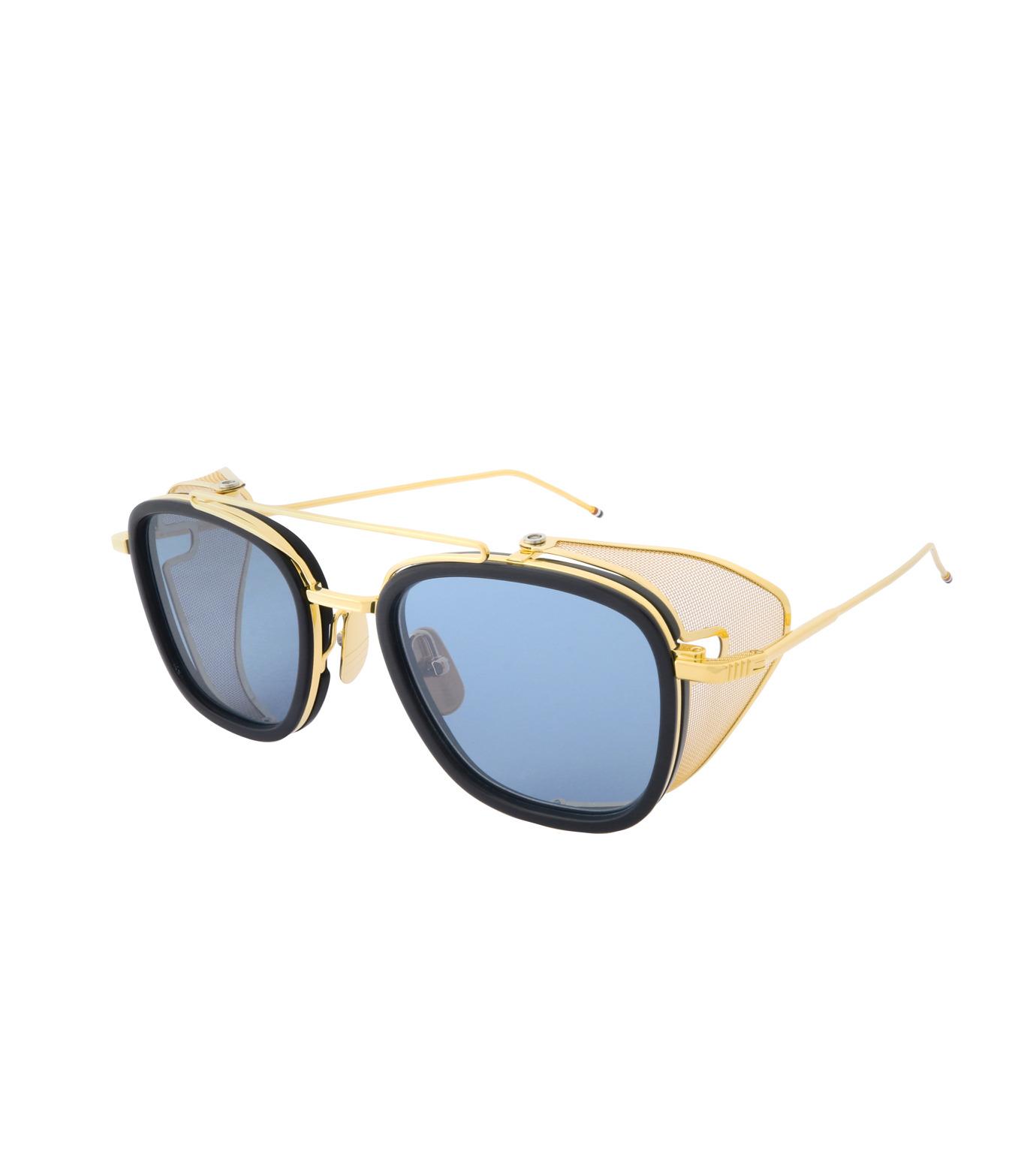 Thom Browne Eye Wear(トム・ブラウン・アイウェア)のSidemesh Sunglass-NAVY(アイウェア/eyewear)-TB-808-C-93 拡大詳細画像1