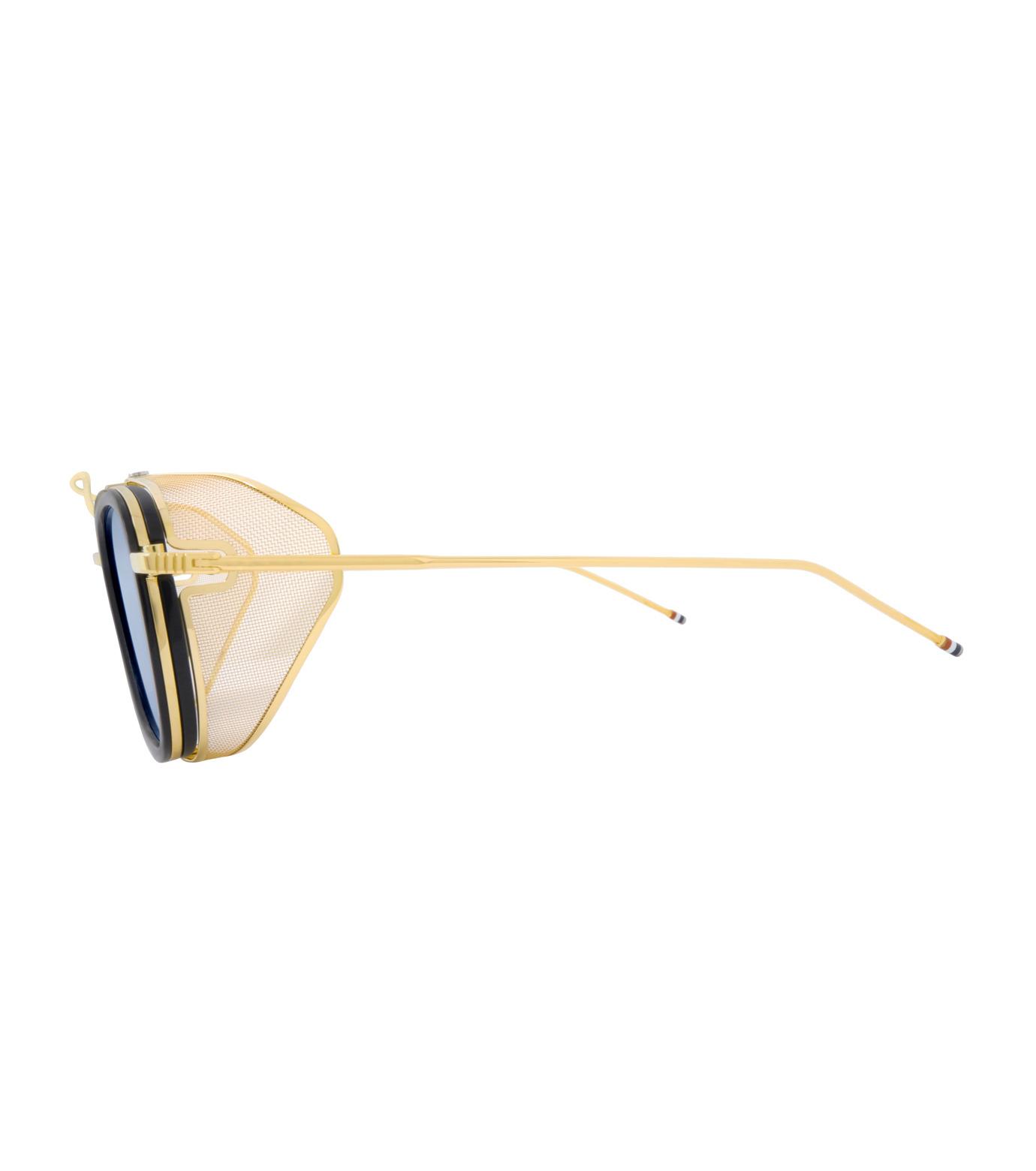 Thom Browne Eye Wear(トム・ブラウン・アイウェア)のSidemesh Sunglass-NAVY(アイウェア/eyewear)-TB-808-C-93 拡大詳細画像2